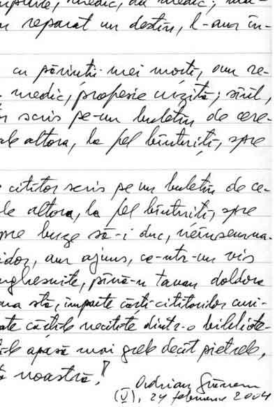 Click aici pentru a vizualiza Manuscrisul - Adrian GRĂNESCU