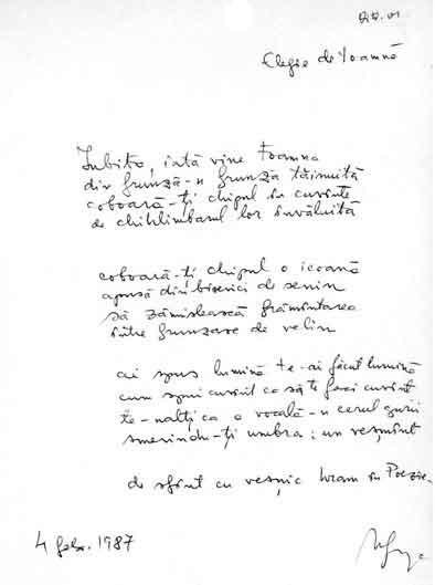Click aici pentru a vizualiza Manuscrisul - Mircea GOGA
