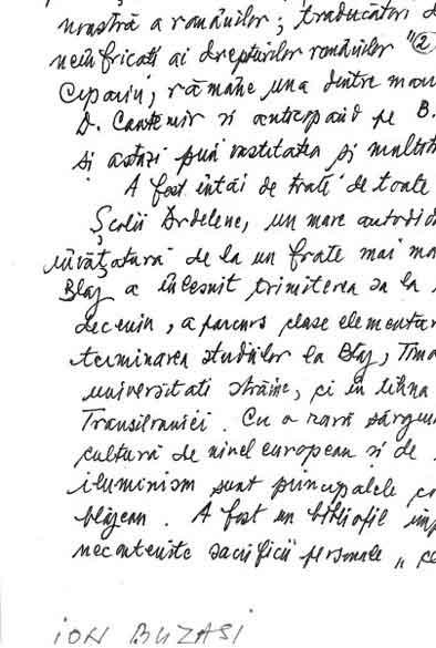 Click aici pentru a vizualiza Manuscrisul - Ion BUZASI