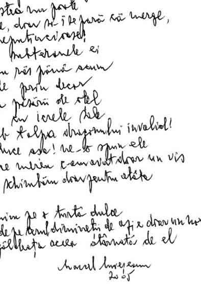 Click aici pentru a vizualiza Manuscrisul - Marcel MUREŞEANU
