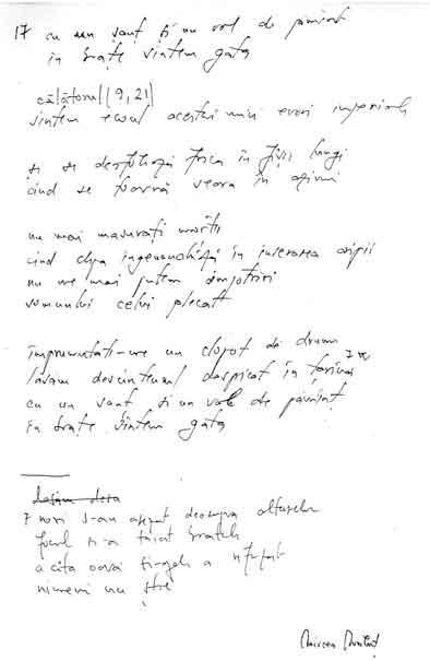 Click aici pentru a vizualiza Manuscrisul - Mircea MĂLUŢ