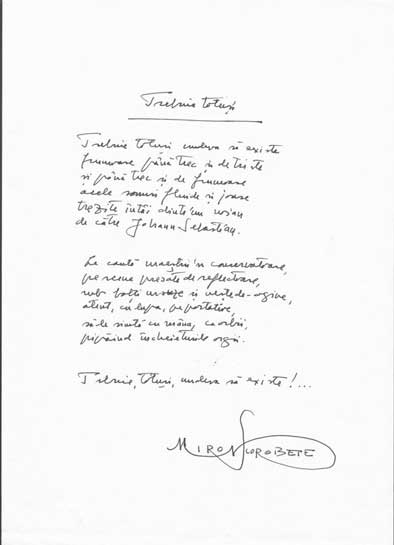 Click aici pentru a vizualiza Manuscrisul - Miron SCOROBETE