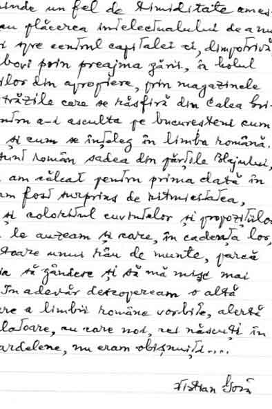 Click aici pentru a vizualiza Manuscrisul - Vistian GOIA