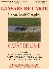 001 Afis lansare Leon-Iosif Grapini Capăt de linie _ http://www.uniuneascriitorilor-filialacluj.ro/Poze/carti/Afis_Grapini_USR_Cluj.jpg
