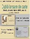 004 Afis dubla lansare _ http://www.uniuneascriitorilor-filialacluj.ro/Poze/carti/Afis_Ianculescu_Vasilache.jpg
