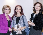 Eugenia Bojoga, Oana Boc, Flavia Teoc, Udine 2013 _ http://www.uniuneascriitorilor-filialacluj.ro/Poze/carti/Eugenia_Bojoga,_Oana_Boc,_Flavia_Teoc.jpg