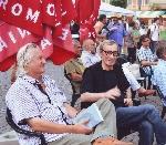 021 Petru Poantă şi George Vulturescu iunie 2013 _ http://www.uniuneascriitorilor-filialacluj.ro/Poze/carti/Petre_cu_Vulturescu_iunie_2013_mc.jpg